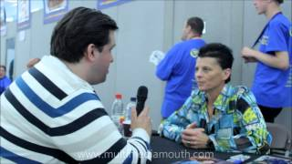 Robert interviews Tracee Cocco at London Film and Comic Con 2012
