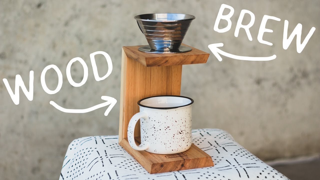 10e34445cea How To Make A Pour Over Coffee Stand - YouTube