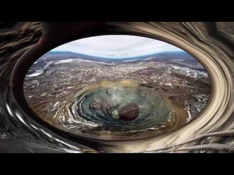 Is it that the world's most expensive hole! | World's Biggest Diamond Mine, Russia