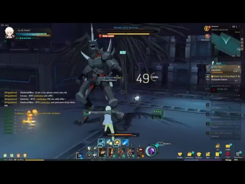 Soul worker leveling up and doing daily's