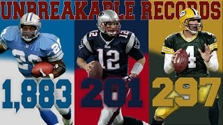 NFL RECORDS THAT WILL NEVER BE BROKEN