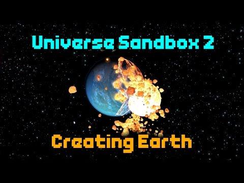 CREATING PLANET EARTH! [Universe Sandbox 2]