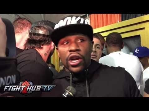 Floyd Mayweather breaks down Adrien Broner vs. Shawn Porter