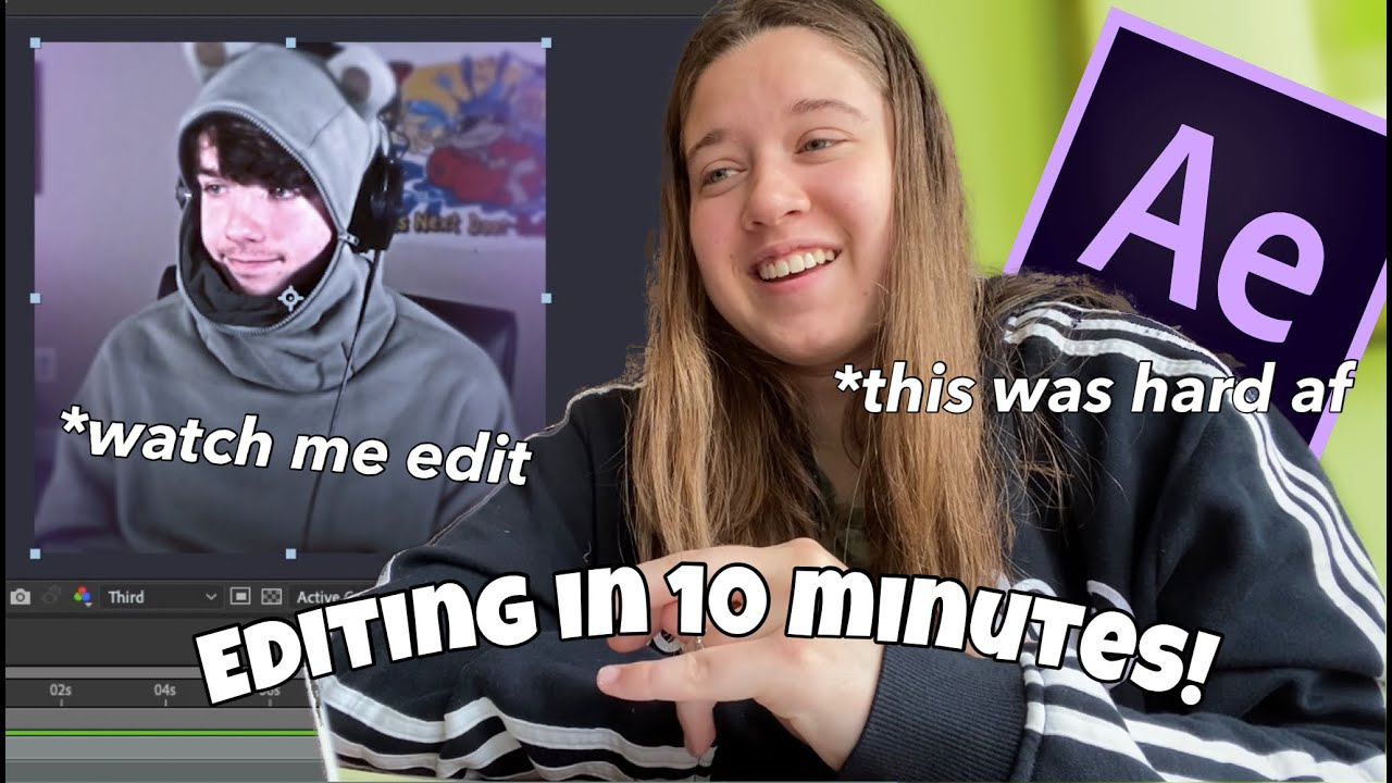 Download 10 minute editing challenge! *after effects* watch me edit