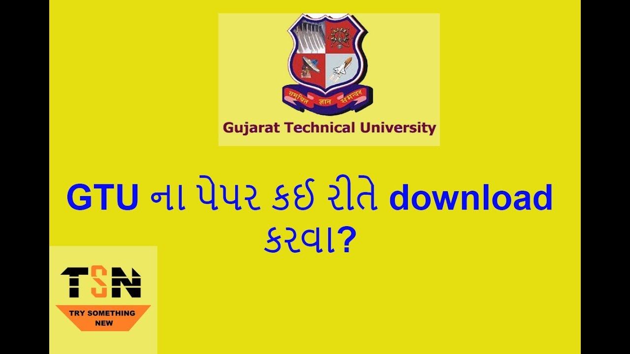 Pdf Of Papers Of Be For Gtu