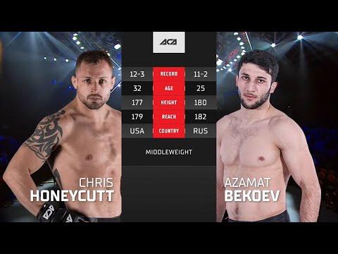 ACA 122: Крис Ханикатт vs. Азамат Бекоев | Chris Honeycutt vs. Azamat Bekoev
