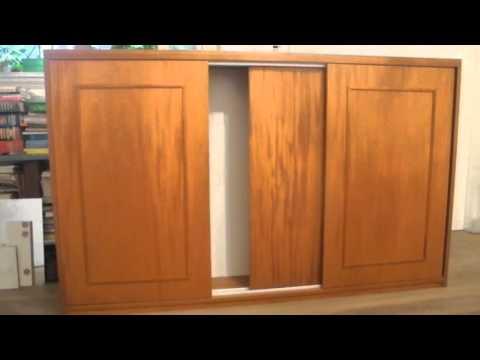 mueble con puertas corredizas viruta y veta hd youtube