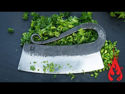 Blacksmithing - Forging a herb chopper