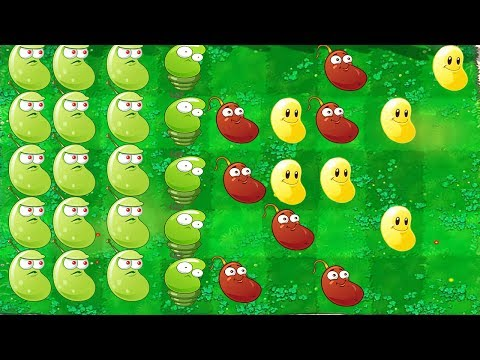 BEAN ONLY CHALLENGE | Plants vs Zombies 2