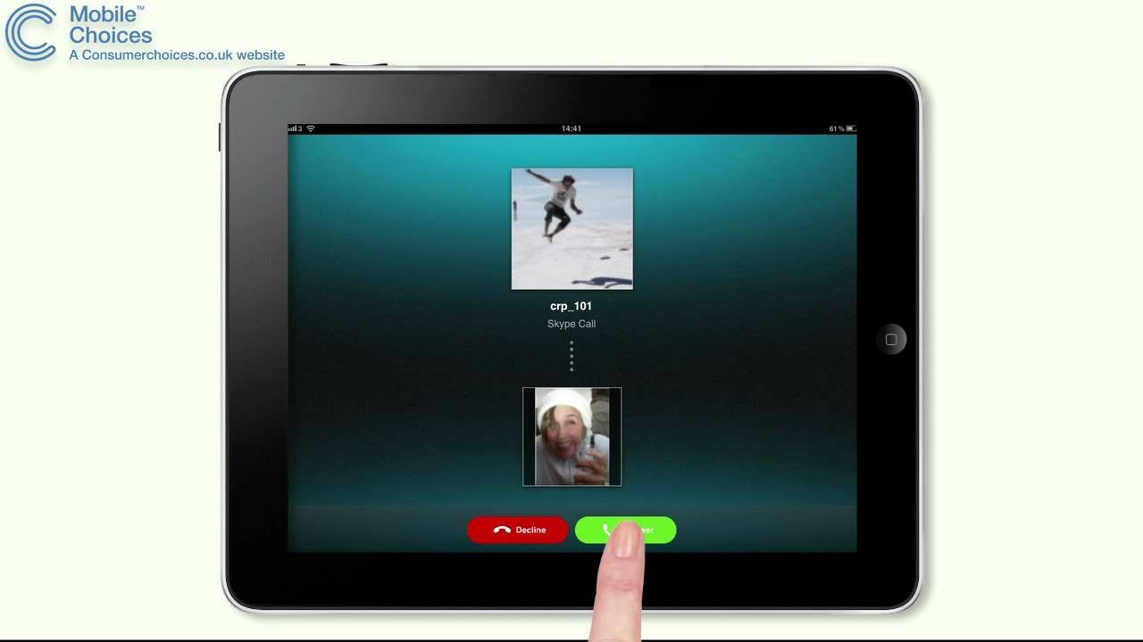 How To Use Skype On Ipad Guide To Free Phone Calls On Apple Ipad