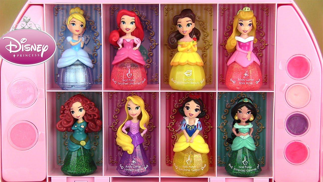 Disney princess makeup set coffret maquillage little - Jeux de princesse barbie sirene ...