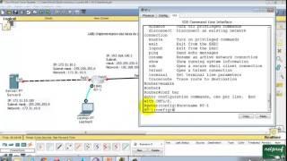 Configuration d'Interface Routeur et Test