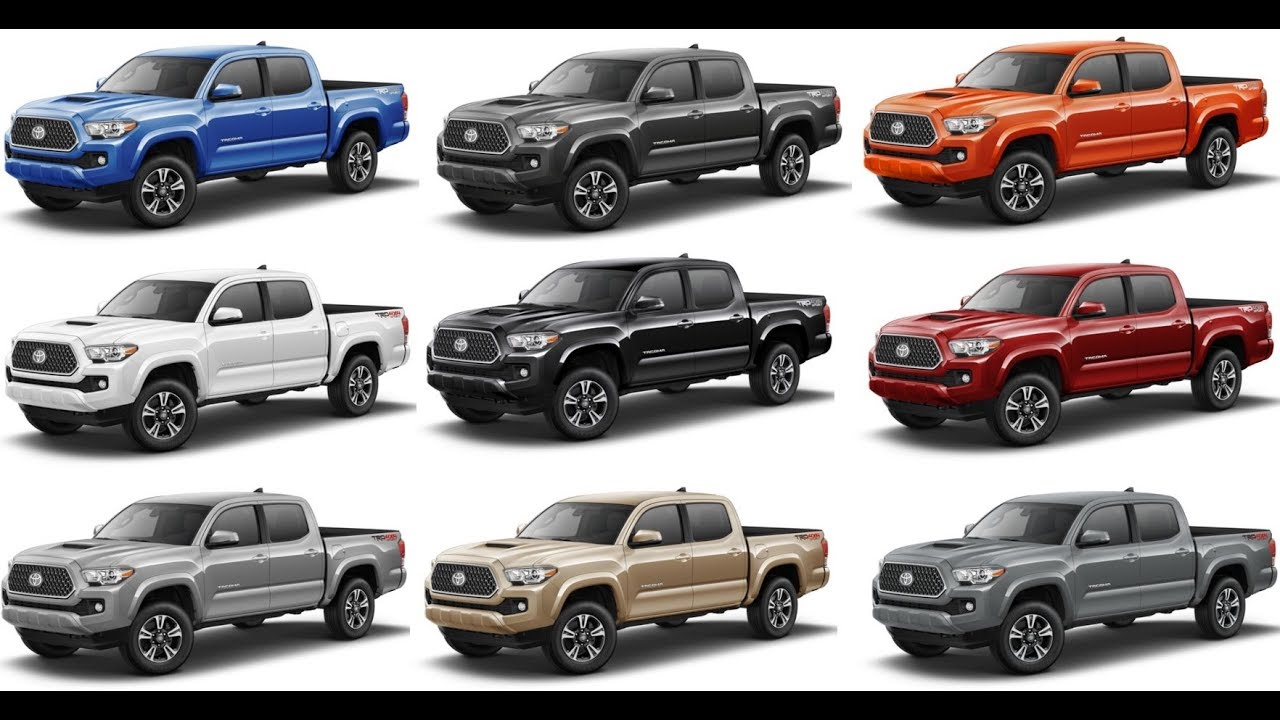 Toyota Tacoma Colors >> The Many Colors Of The 3rd Gen Tacoma