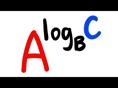 Spencer's favorite logarithm property!
