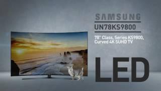 SAMSUNG UN78KS9800 9-Series KS9800 Curved 4K SUHD Smart TV ( 2017 ) // FULL SPECS REVIEW #SamsungTv