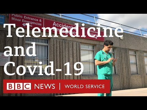 Fighting coronavirus in Afghanistan with the help of telemedicine - BBC World Service