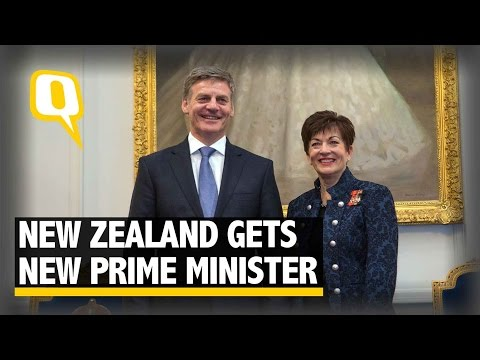 The Quint: Bill English Takes Oath as New Zealand Prime Minister