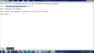 MINECRAFT Cracked Launcher from AnjoCaido download 1.5.2