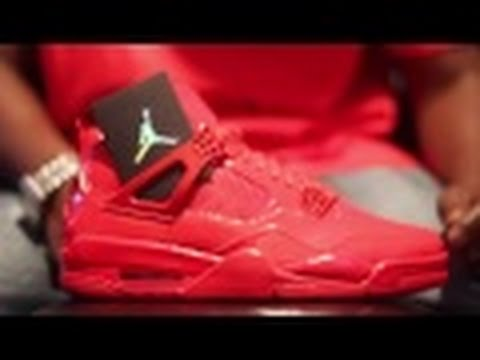 54f29d6d4eb920 Air Jordan 11 Lab 4 Red Patent Leather Authentic Unboxing + On Foot -  YouTube