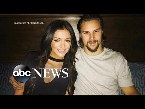 Hockey star accuses teammate's fiancee of stalking, harassment