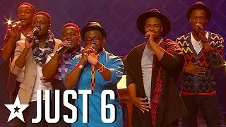 Just 6 Give An Amazing Audition on SA's Got Talent