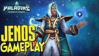 🎮Paladins OB55 Patch Pts ► JENOS GAMEPLAY - NEW SUPPORT CHAMPION