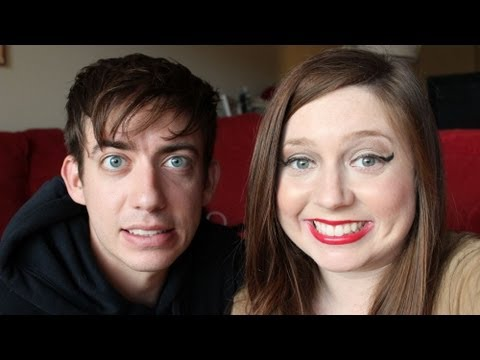 Kevin McHale from Glee Does My Makeup!