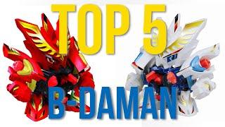 5 Best B-Daman (CrossFight B-Daman)