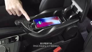 BMW X2 - Wireless Charging Port