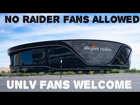 Allegiant Stadium Open To UNLV Fans But Raider Fans Are Not Allowed? - By Joseph Armendariz