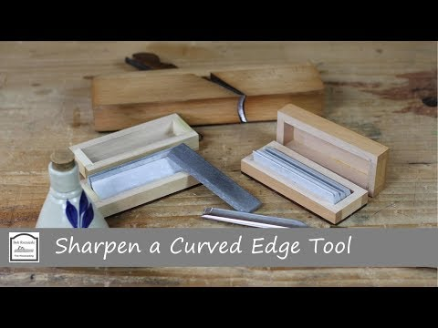 How to Sharpen Gouges and Molding Plane Blades