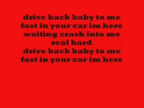 gwen stefani crash with lyrics