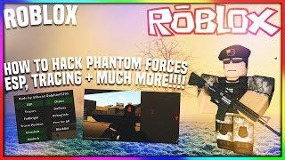 ✅ ROBLOX como cortar forças fantasma: ESP, TRACING + mais [OP ASF PHANTOM FORCES HACK] (25-2nd) 2018 ✅