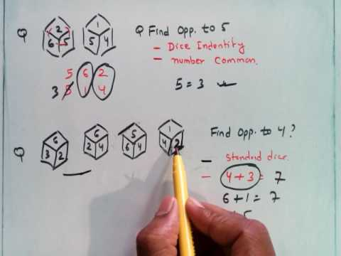 8. SSB Interview IQ Test Non Verbal Reasoning-Cube n Dice