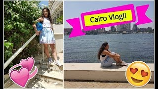 Cairo vlog! This is Egypt.