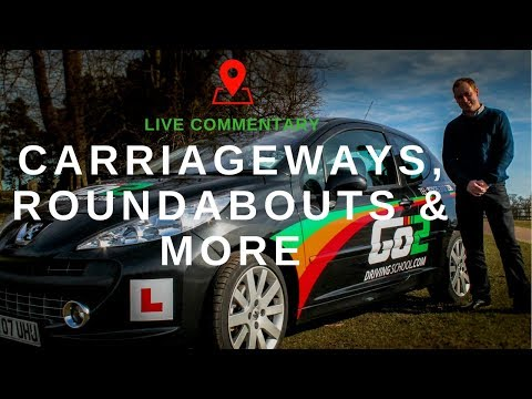 Commentary On Carriageways, Roundabouts & More - Driving Back From East Midlands Airport