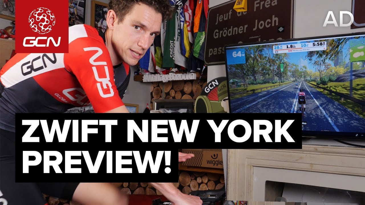 Zwift New York Course Preview | 6 Things You Need To Know