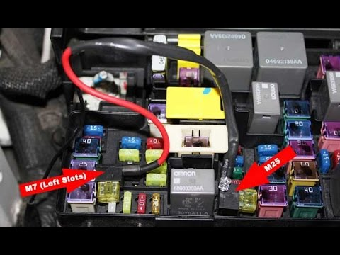 hqdefault tipm repair, test, and bypass solutions for 2007 2016 dodge 2007 Toyota Tacoma Fuse Box at bakdesigns.co
