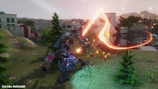 Phantom Brigade Cinematic Battle