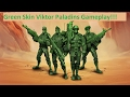 GREEN SKIN VIKTOR IS SO COOL!! Paladins Viktor Gameplay and Commentary.