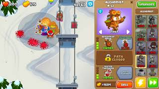 Bloons TD 6 - Easy, Deflation , Alpine Run, (NO MONKEY KNOWLEDGE)