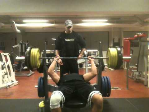 Bench Press 350 Lbs 160 Kg