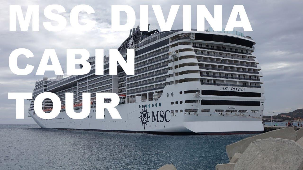 MSC Divina Balcony Cabin - YouTube