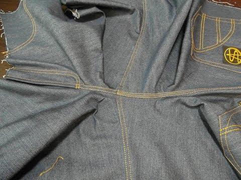 Как померить шаговый шов у штанов