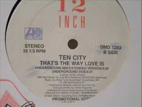 Rare (Underground Dub) That's the way love is- Ten City