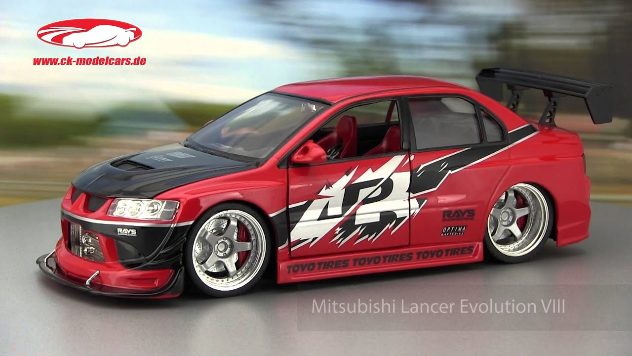 ck-modelcars-video: Mitsubishi Lancer Evolution VIII Fast and ...