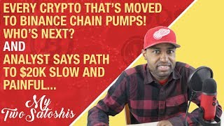Cryptos That Moved to Binance Chain Moon#39d, Who#39s Next Analyst Says Path to 20k Slow amp Painful