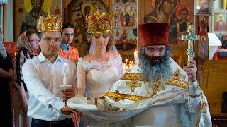 Венчание Виталия и Ксении (часть 1)