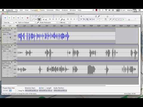 Introducing Audacity: the Free Sound Editor