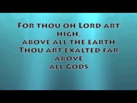 I Exalt Thee (Jesus Culture)